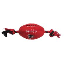 Atlanta Falcons Plush Football Dog Toy