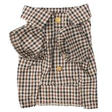 Autumn Plaid Dog Shirt by Dog Threads