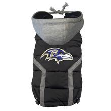 Baltimore Ravens Dog Puffer Vest