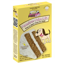 Banana Puppy Cake Mix Dog Treat