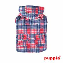 Barrington Dog Raincoat by Puppia - Navy