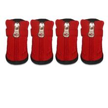 Basic Hiker Dog Boots - Red