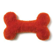 Berber Bone Dog Toy by West Paw - Pumpkin
