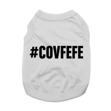 Covfefe Dog Shirt - Gray