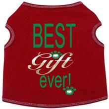 Best Gift Ever Dog Tank - Red