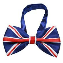 Big Dog Bow Tie - British Flag