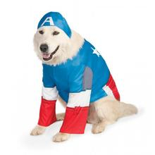 Big Dog Marvel Captain America Dog Costume