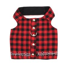 Biker Harness Dog Vest by Doggles - Buffalo Plaid