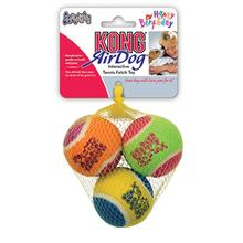 KONG Birthday Air Squeaker Balls Dog Toy