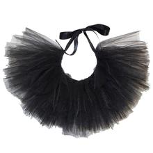 Black Tulle Dog Tutu by Pawpatu