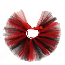 Black/Red Tulle Dog Tutu by Pawpatu