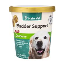 Bladder Support with Cranberry Soft Pet Chew by NaturVet