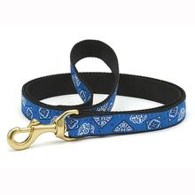Blue Bandana Dog Leash by Up Country