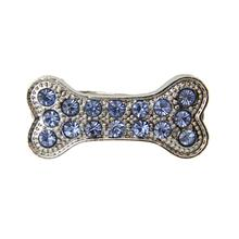 Bone Barrette by FouFou Dog - Blue