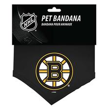 Boston Bruins Cotton Dog Bandana
