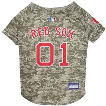 Boston Red Sox Dog Jersey - Camo