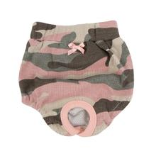 Brigadier Dog Sanitary Panty by Puppia - Pink Camo