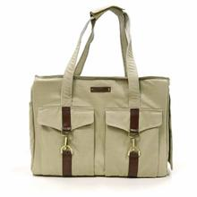 Buckle Pet Tote by Dogo - Beige