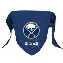Buffalo Sabres Mesh Dog Bandana - Blue