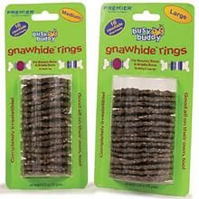 Busy Buddy Gnawhide - All-Natural Rawhide Ring Refills