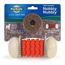 Busy Buddy Sportsmen Nobbly Nubbly Dog Toy - Blaze Orange