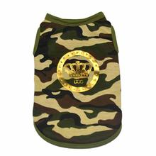 Camo Lux Dog Tank by Dogs of Glamour - Green