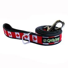 Canada Maple Leaf Pup Top Dog Leash by Cycle Dog