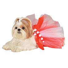 Candy Cane Dog Tutu