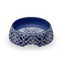 Canyon Clay Indigo Pet Bowl by TarHong