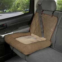 Car Cuddler Pet Seat Cover - Brown