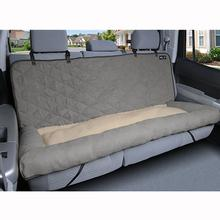 Car Cuddler Pet Seat Cover - Gray