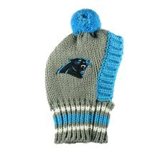 Carolina Panthers Knit Dog Hat