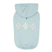 Carys Hooded Dog Shirt by Pinkaholic - Mint