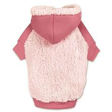 Casual Canine Cozy Fleece Dog Hoodie - Pink