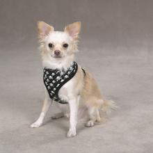 Casual Canine Skull & Crossbones Dog Harness - Black