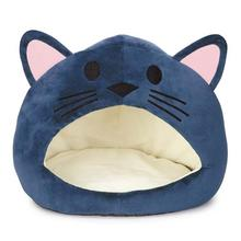 Cat is Good Cat Cave Bed - Blue