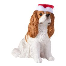 Cavalier King Charles Spaniel Christmas Ornament - Sitting