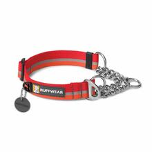 Chain Reaction Dog Collar by RuffWear - Kokanee Red