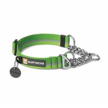 Chain Reaction Dog Collar by RuffWear - Meadow Green