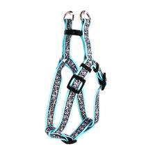Chantilly Step-In Dog Harness by Yellow Dog - Teal