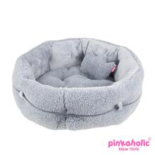 Chelsea Dog Bed by Pinkaholic - Gray
