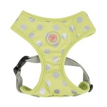 Chic Adjustable Dog Harness by Pinkaholic - Lime