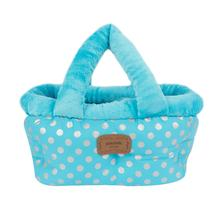 Chic Basket Dog Bed and Car Seat by Pinkaholic - Blue