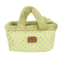 Chic Basket Dog Bed and Car Seat by Pinkaholic - Lime