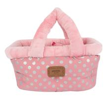 Chic Basket Dog Bed and Car Seat by Pinkaholic - Pink