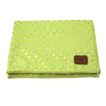 Chic Dog Blanket by Pinkaholic - Lime