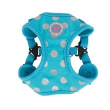 Chic Step-In Adjustable Dog Harness by Pinkaholic - Blue
