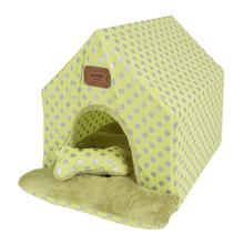 Chic Tent Dog House by Pinkaholic - Lime