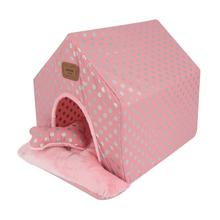 Chic Tent Dog House by Pinkaholic - Pink