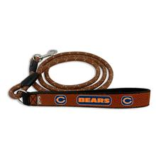 Chicago Bears Frozen Rope Leather Dog Leash